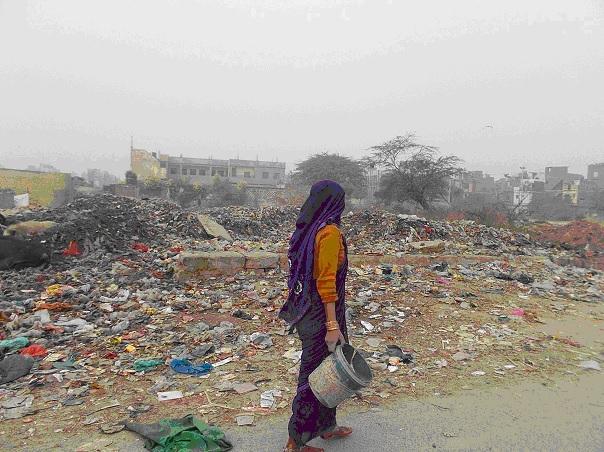 Status of Sanitation in an urban slum in Delhi