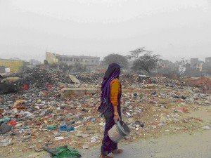 Status of Sanitation in an urban slum in Delhi